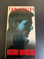 Mission: Impossible MI (VHS, 1999) - Tom Cruise
