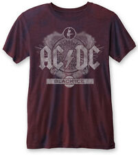 AC/DC 'Black Ice' (Navy/Red) T-Shirt - NEW & OFFICIAL!