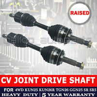 CV Joint Drive Shaft for Toyota Hilux 4x4 KUN26 TGN26 GGN25 SR 40mm Lift Raised