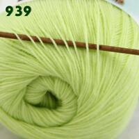 Sale 1 Skein x 50gr LACE Soft Acrylic Wool Cashmere Shawl Hand Knitting Yarn 39