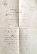 § CAVAGNOLO 1911 - ESTRATTO CERIMONIA MATRIMONIALE BOTTA/SESIA