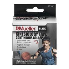 Mueller Kinesiology Sport Tape 2 in x 16 ft BLACK
