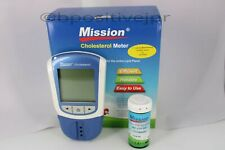 Mission 3 in 1 combo test cholesterol Meter & 25 Test device Lipid Panel
