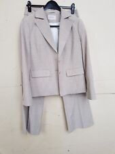 NEXT WOOL BLEND TROUSER SUIT JACKET SIZE 16 & TROUSERS SIZE 12R