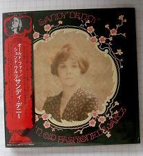 SANDY DENNY - Like An Old Fashioned Waltz +4 JAPAN SHM MINI LP CD NEU UICY-94087
