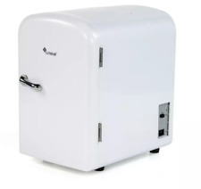 CRISTAL 4 L Blanc Mini Skincare Réfrigérateur