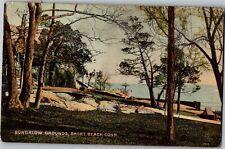 Bungalow Grounds, Short Beach CT Vintage Postcard Q05