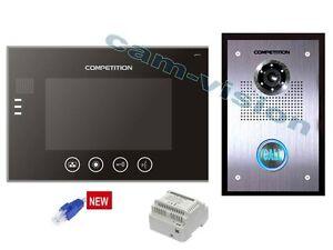 "Video-Türsprechanlage IP-Netzwerk mit 7"" LCD,700TVL Kamera/Smartphone-Tablet App"
