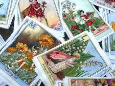 Patchworkstoff M. Miller Flower Fairies Alphabet 4 Bilder panels Blumen Elfen