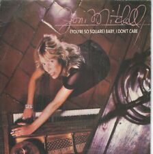 "JONI MITCHELL 7""PS Spain 1982 ( You're so square ) Baby, I don't care"