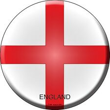 England Flag Round Wall Sign 300mm diameter  (sb)  REDUCED!!