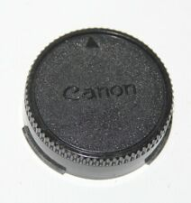 Canon - Genuine FD Mount Rear Lens Cap - vgc