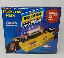Blue-Box Car Truck Wash Station Original 1979 Hotwheels Matchbox Battery Powered