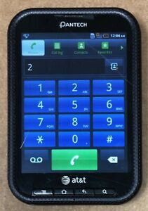 Pantech Pocket P9060 Unlocked Smartphone AT&T T-Mobile Cricket MetroPcs w/defect