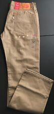 LEVI'S 514 Mens Tan Straight Leg Jeans Size 31 X 32(UBA102) NEW$59