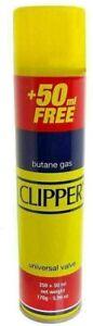 Clipper Universal High Quality Butane Gas Lighter Refill Fluid Fuel 300ML