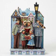Enesco Jim Shore HWC Victorian Carolers Musical Lited Masterpiece NIB  #4047676