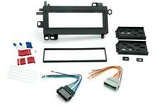 Dash Kit for Single Din Radio Stereo Install for Chrysler Dodge w Wire Harness