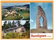 BURDIGNES (42) CHALET de SKI DE FOND ,VILLAS ,CHATEAU MONTCHAL & EGLISE en 1984