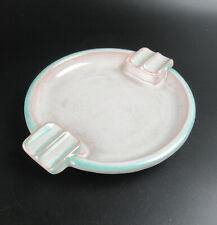 Karlsruher Majolika Keramik Aschenbecher Art Deco / Bauhaus Ära 30er Jahre