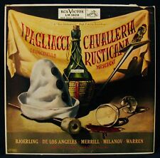 CAVALLERIA RUSTICANA-I PAGLIACCI-RCA VICTOR #LM-1828 Red Seal
