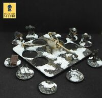 28mm Warlord Games German Winter PAK40 with Casualty Marker: Painted by RBStudio