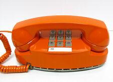 Orange Western Electric Princess TouchTone Desk Telephone - Full Restoration