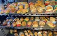 Lot Of 100+ Bosons & Legends Style Heads Aftermarket Fakes Chalkware Ceramic