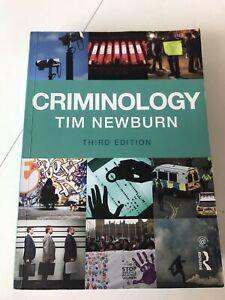 Criminology - Tim Newburn Third Edition