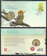 2013 AUSTRALIAN KINGFISHERS PNC UNC TUVALU $1 COIN MINT Issue Price $15.95