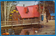Water Wheel, Santa's Workshop, North Pole,Wilmington, New York