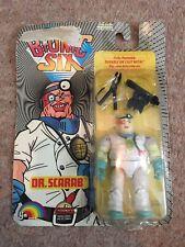 Bionic Six Dr. Scarab Vintage Figure Ljn Toys Ltd. French/English 1986