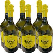 """""""RIBOLLA GIALLA"""" SPUMANTE BRUT VILLA SALA - cartone di 6 bottiglie da 75 cl."""