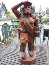 Alte Tabak Indianer Häuptling Figur Statue Skulptur US Deko Country Western 63 c