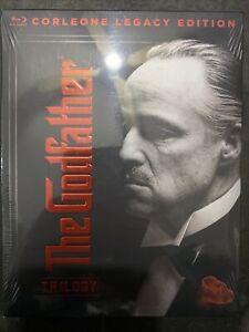 NEW!!! The Godfather Trilogy: Corleone Legacy Edition [Blu-ray, 2019]
