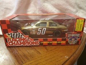 Racing Champions 1998 Nascar #50 50th Anniversary Stock Car 1:24 Diecast Car