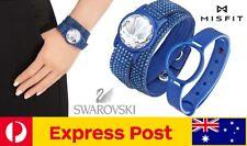 Swarovski + Misfit Shine Activity Fitness Tracker Gift Set - Slake bracelet Blue