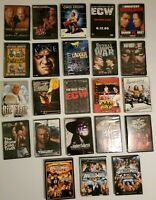 WWE WWF WCW ECW Wrestling DVD Lot ~ Pick Any ~ Combined Shipping Offered