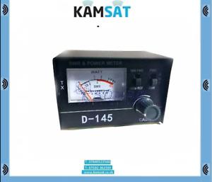 POWER METER - D145 - CB RADIO ANTENNA SWR PWR 10W-100 WATT 1,5 - 150 MHz