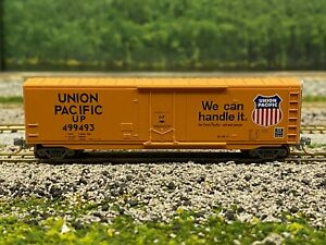 N Scale - MTL NSC 05-42 Union Pacific 50' Plug Door Boxcar UP 499493 N4050