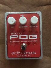 Electro Harmonix Micro POG Guitar Pedal