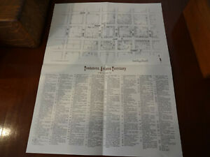 Tombstone Arizona Map 1975 by John D. Gilchriese