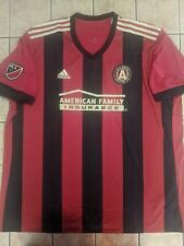 Atlanta United 2017 Home Replica Blank Jersey ATL UTD Adidas Men's NWT sz 3XL