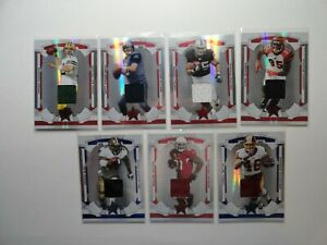 2008 Leaf Rookies and Stars Football game-worn jersey lot