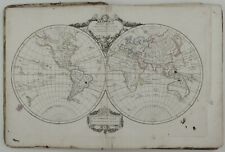 ANTIQUE ATLAS 1818 VAUGONDY COMPLETE WORLD EUROPE CELESTIAL ASIA AMERIKA 56 MAPS