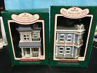 HALLMARK NOSTALGIC HOUSES & SHOPS--1987 & 1988---IN BOXES----------------mc