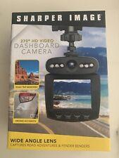 Sharper Image Dashboard Camera 270 Degree Hd Video w/Rechargable Battery Nib