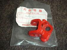 NOS HONDA ELSINORE CR 125 RB 1981 R/H FOOT PEG BRACKET 50613-KA3-000 EVO CR125R