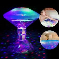 UK Underwater LED Disco Lights Glow Show Swimming Pool Hot Tub Spa Flashing Lamp