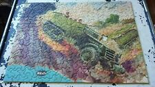 """VINTG TUCO WORK SHOPS deluxe PICTURE PUZZLE """"TRUCKS YOU DON'T STEER"""" 300-500PCS"""